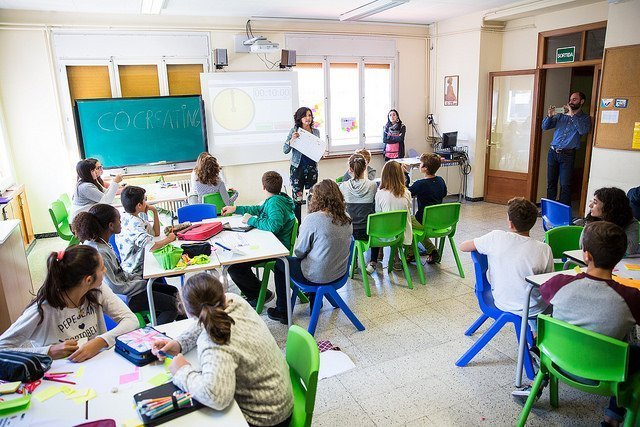 Montse Jiménez: «Hacer un cambio educativo es una responsabilidad»