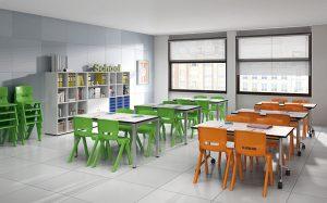aula primaria aprendizaje cooperativo