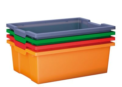 Big plastic tray