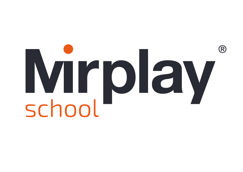 logotipo mirplay school