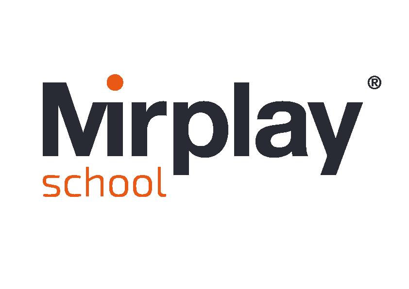 logotipo mirplay school