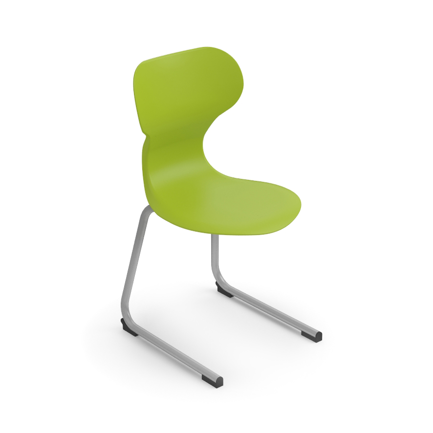 silla cantilever mobiliario escolar