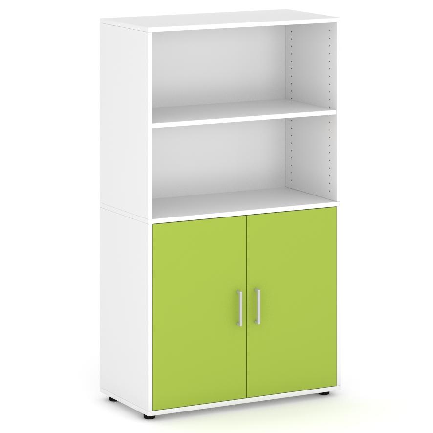 armario-de-160-cm-de-altura-con-2-espacios-parte-superior-2-puertas-parte-inferior-verde
