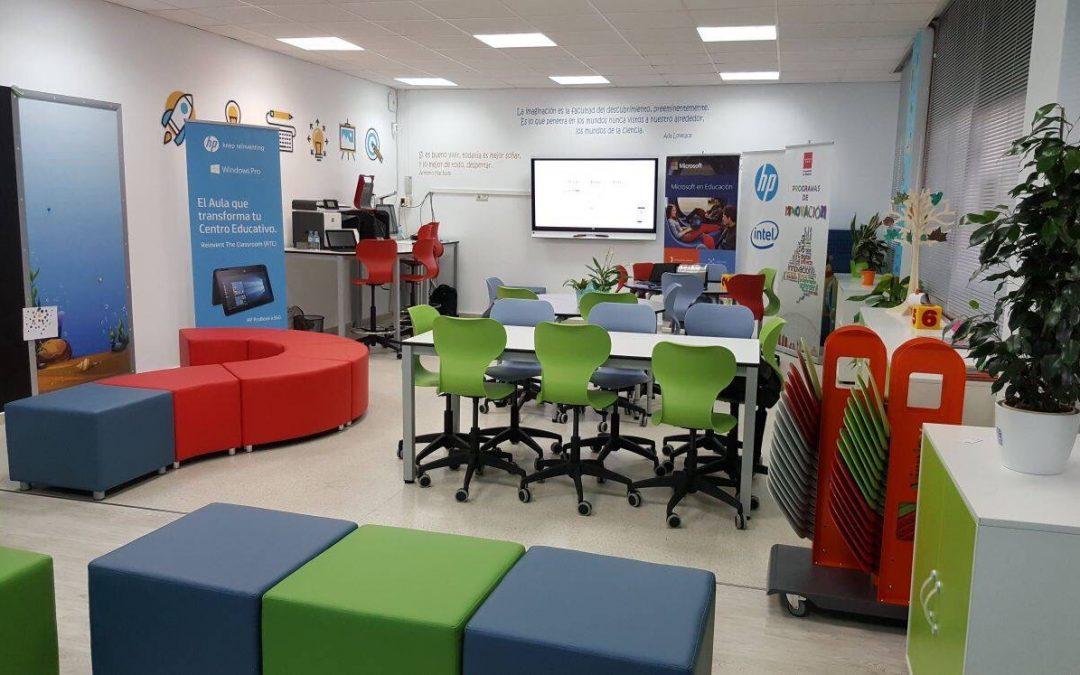 Cómo es el aula del futuro y por qué formamos parte de ella