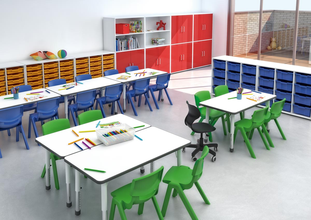Espacios Escolares infantiles