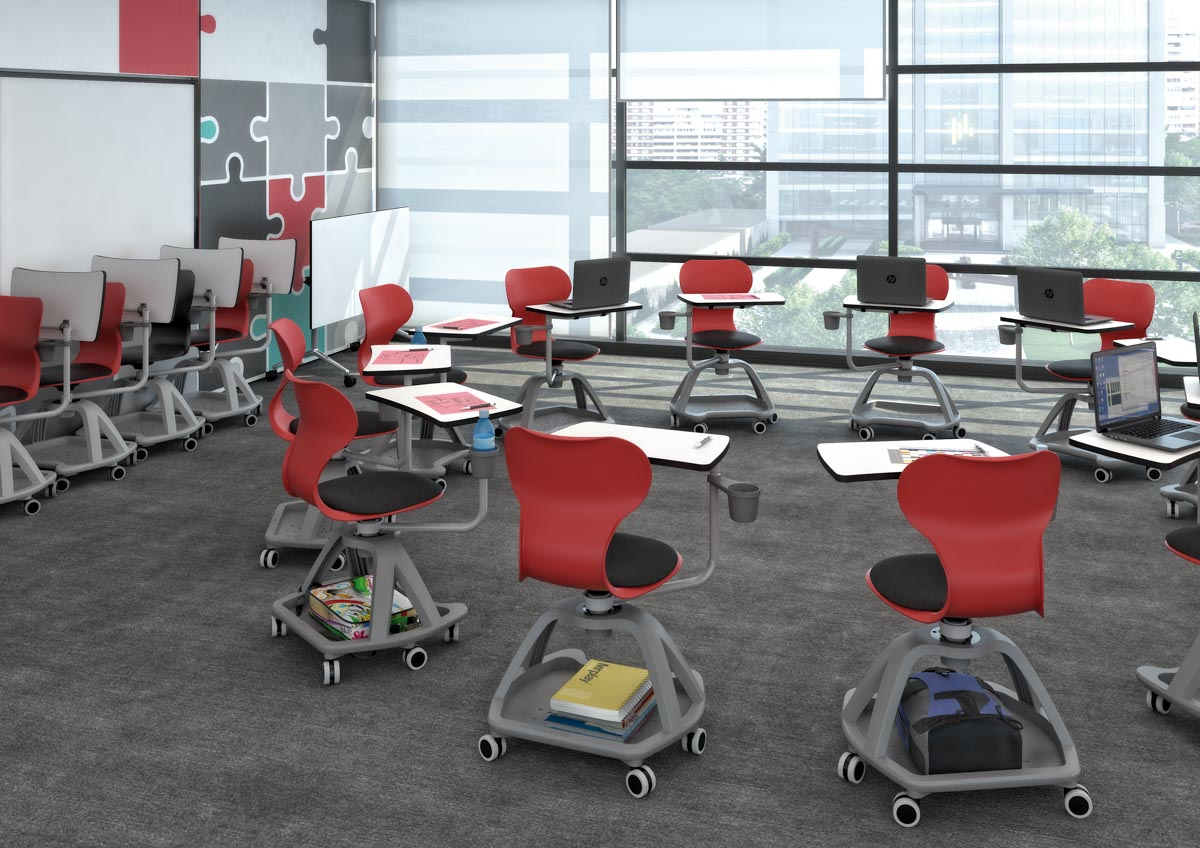 Silla Mia Table en movimiento aula