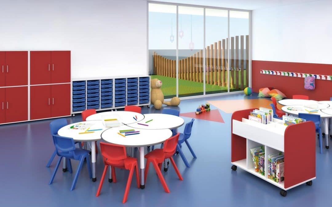 Mesa escolar infantil