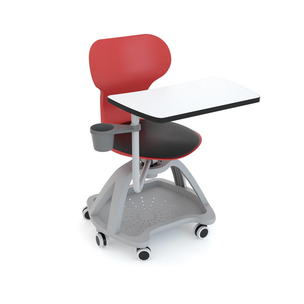 silla escolar con paleta